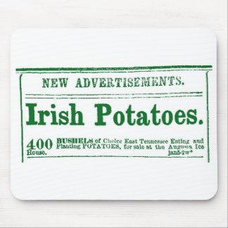 Irish Potato Newspaper Advertisement Civil War era Mouse Pad