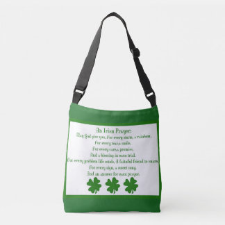 Irish  prayer  purses crossbody bag