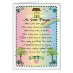 Irish Prayer St. Patrick's Day Greeting Card