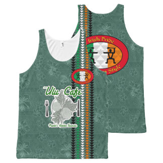 Irish Pride Hawaiian Style Tank Top