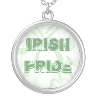 Irish Pride Lucky Four Leaf Clover Necklace
