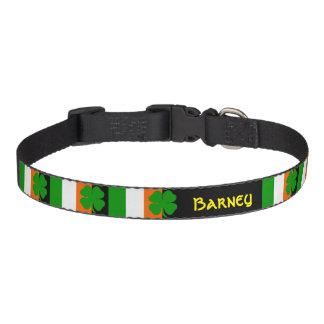[Irish Pride] Shamrock Flag Pet Collar
