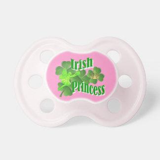 Irish princess and fairy pacifier