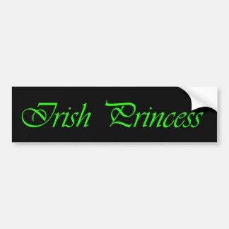 IRISH PRINCESS bumper sticker