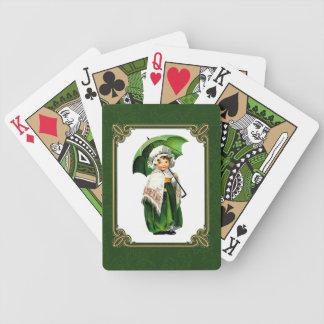 Irish Princess.Gift Playing Cards