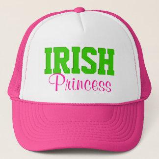 Irish Princess Hot Pink/Green Trucker Hat