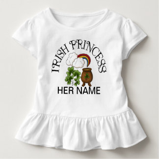 Irish Princess Shamrocks Pot of Gold Toddler T-shirt