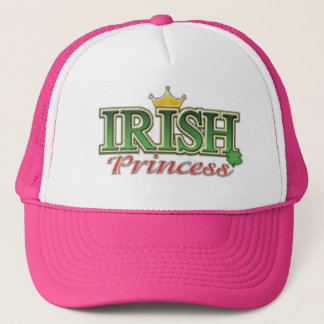 IRISH PRINCESS TRUCKER HAT