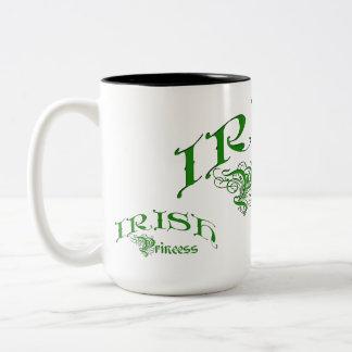 Irish Princess Two-Tone Coffee Mug
