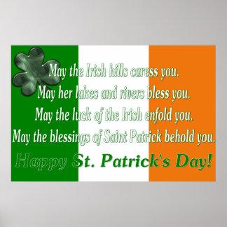 Irish Proverb 5 - Irish Flag Print