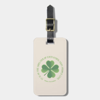 Irish Proverb Luggage Tag