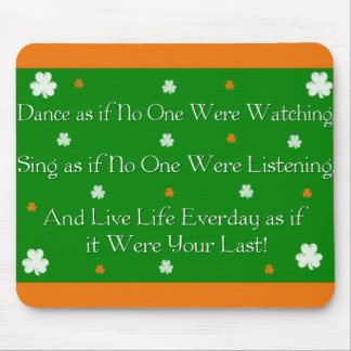 Irish Proverb Mousepad