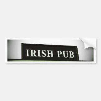 Irish Pub Bumper Sticker