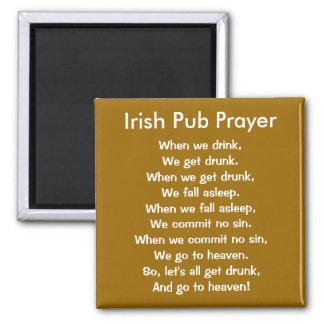 Irish Pub Prayer Magnet