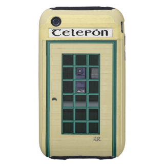 Irish Public Telephone Box on iPhone 3G Tough Tough iPhone 3 Covers