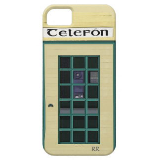 Irish Public Telephone Box on iPhone 5 Case