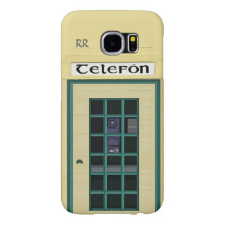 Irish Public Telephone Box Samsung Galaxy S6 Case