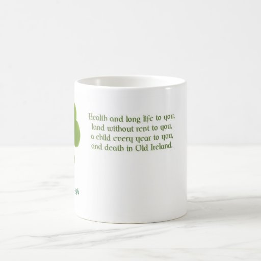 Irish quote 01 mug