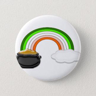 Irish Rainbow 2 Inch Round Button