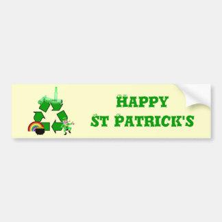 Irish recycling bumper sticker