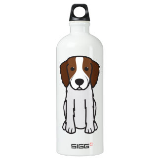 Irish Red and White Setter Dog Cartoon