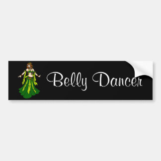 Irish Redhead Belly Dancer Bumper Sticker