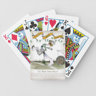 irish right wing footballer bicycle playing cards