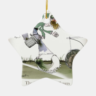 irish right wing footballer ceramic ornament