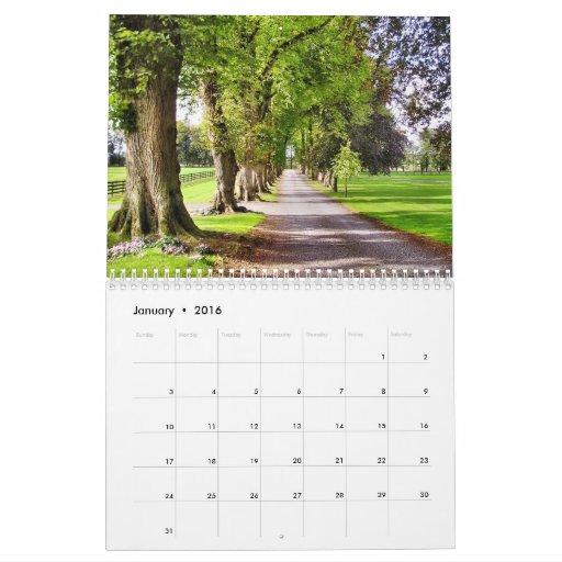 Irish Roads Calendar