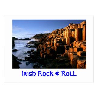 """""""Irish Rock & Roll"""" Postcard"""