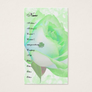 Irish Rose template Business Card