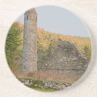 Irish Round Towers over 1,000 years old Drink Coasters
