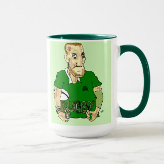 irish rugby mug