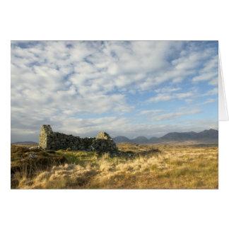 Irish ruin card