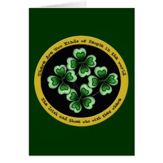 Irish Saying Card