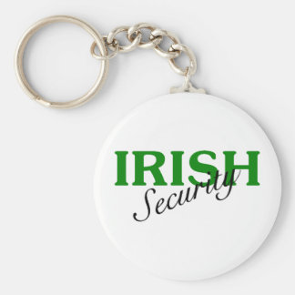 Irish Security Keychain