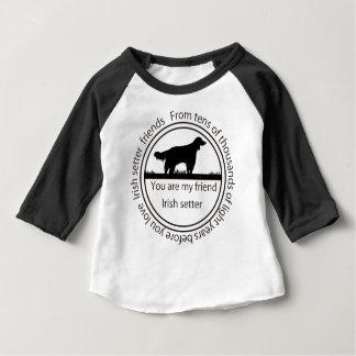Irish setter and mark baby T-Shirt