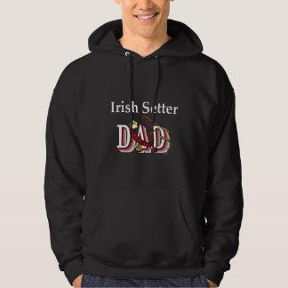 Irish Setter Dad Gifts Hoodie