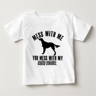 irish setter design baby T-Shirt