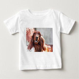 Irish Setter Dog Baby T-Shirt