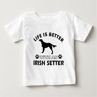 Irish Setter dog designs Baby T-Shirt