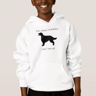 Irish Setter dog kids, childrens hoody, gift