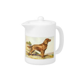 Irish Setter Dog Teapot