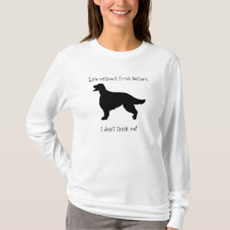 Irish Setter dog womens ladies hoody, gift T-Shirt