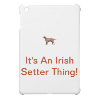 Irish Setter iPad Mini Cases