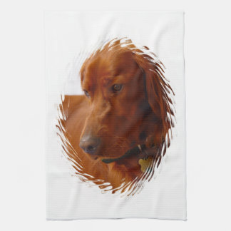 Irish Setter  Kitchen Towel