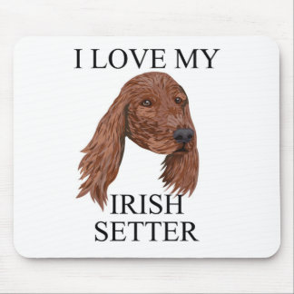 IRISH SETTER Love! Mouse Pad