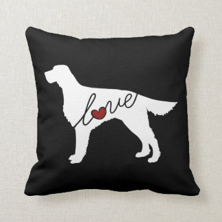 Irish Setter Love Throw Pillow