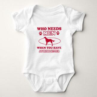 irish setter mommy design baby bodysuit