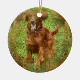 Irish Setter Ornament